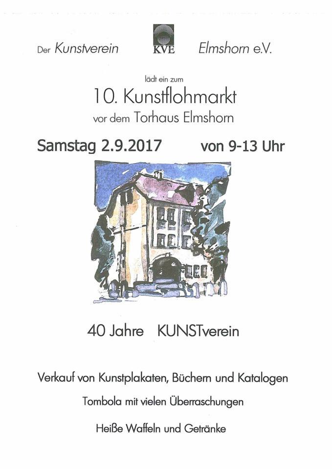 Kunstflohmarkt 2017