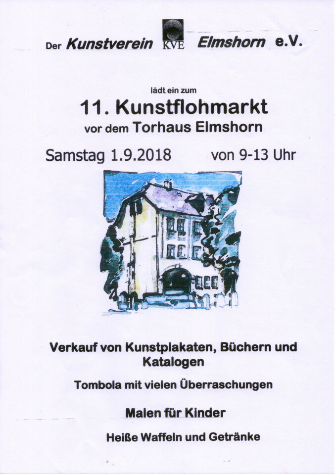 Kunstflohmarkt 2018