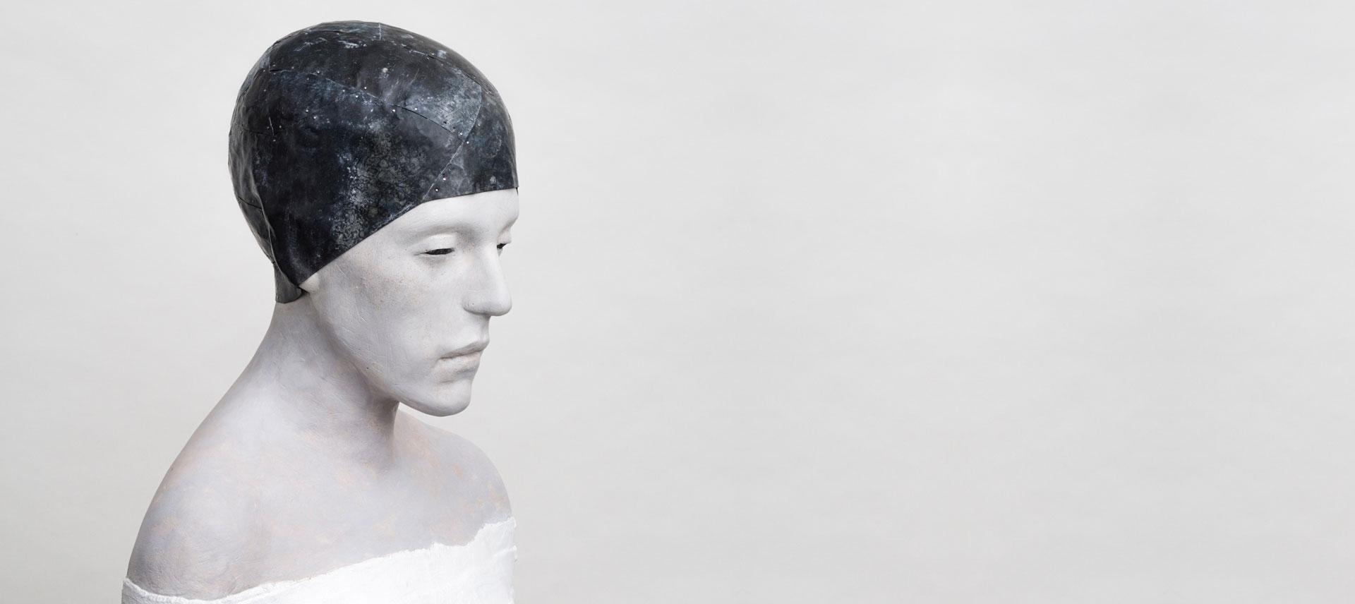 Waltraut Stahlbohm: Frau mit Kappe