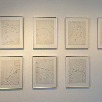 Bilderreihe im 1. OG, rechts - Radierungen Elke Schweigart